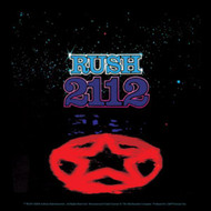 Rush Vinyl Sticker Square 2112 Logo