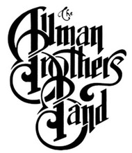 Allman Brothers Band Vinyl Cut Window Sticker Black Letters Logo