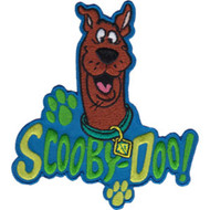 Copy of Scooby-Doo Iron-On Patch Paw Prints Logo