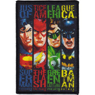 Justice League Of America Iron-On Patch Banners Logo