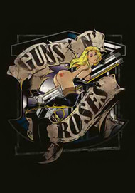 Guns n' Roses Poster Flag Gun Ride Tapestry