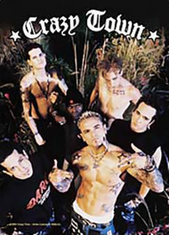 Crazy Town Poster Flag Band Photo Tapestry