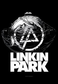 Linkin Park Poster Flag Atomic Age Tapestry