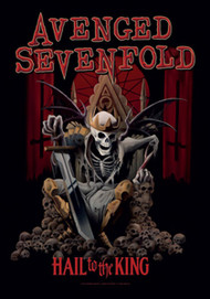 Avenged Sevenfold Poster Flag Hail To The King Tapestry