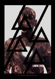 Linkin Park Poster Flag Burn It Tapestry