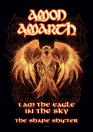 Amon Amarth Poster Flag Burning Eagle Tapestry