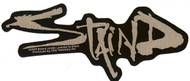 Staind Vinyl Sticker Chrome Letters Logo