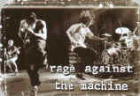 Rage Against The Machine Vinyl Sticker Live Jumping