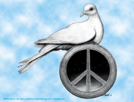 Grateful Dead Vinyl Sticker Peace Dove
