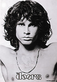 Jim Morrison Poster Flag Open Arms Doors Tapestry