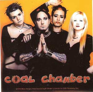 Coal Chamber Vinyl Sticker Group Photo Logo