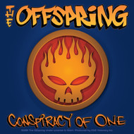 The Offspring Vinyl Sticker Square Conspiracy Skull Logo
