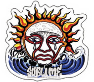 Sublime Vinyl Sticker Weeping Sun Logo