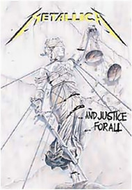 Metallica Poster Flag And Justice For All Tapestry
