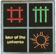 Depeche Mode Iron-On Patch Tour Of The Universe