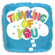 "Mylar balloon add on; ""Thinking of You"""