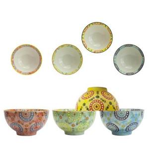 Miyabi Assorted Rice Bowls (Heritage) - 4pcs