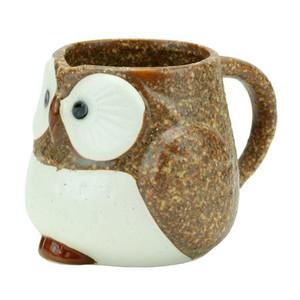 Stony Owl Mug (Brown)
