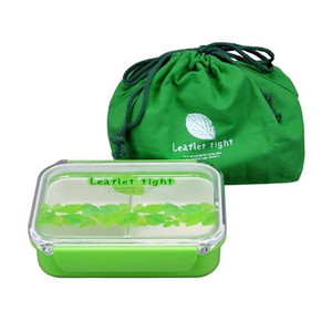 Leaflet Lunch Box w/ Bag