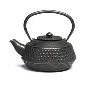 Rikyu Cast Iron Teapot - Black