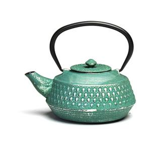 Rikyu Cast Iron Teapot - Aqua