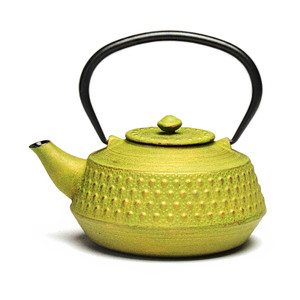 Rikyu Cast Iron Teapot - Green