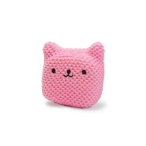 Pink Bear Cap Sponge