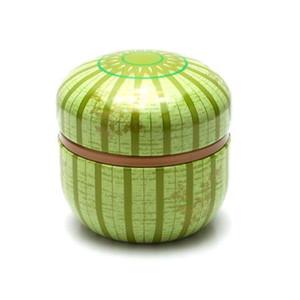 Kaleido Green Loose Tea Container