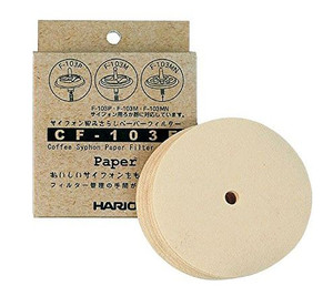 Paper Filter for Coffee Siphons (100 Sheet Pack)