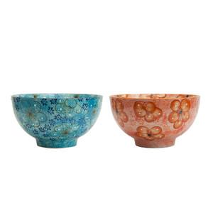 Miyabi Assorted Rice Bowls Set (Florals)