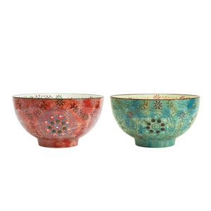 Miyabi Assorted Rice Bowls Set (Heritage)