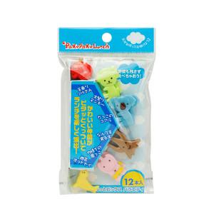 PakuPaku Animal Fruit Picks Assorted-12pc
