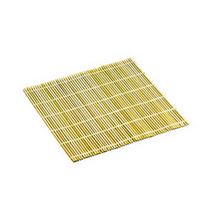 "Bamboo Sushi Rolling Mat 10.5"" - Flattened"