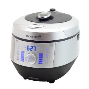 Cuchen PREMIUM IH Pressure Rice Cooker 10cup - Classic Silver&Black
