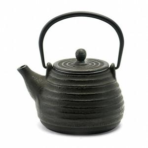 Rikyu Hive Cast Iron Teapot - Black