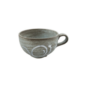 Rustic Grey-Blue Soup Mug