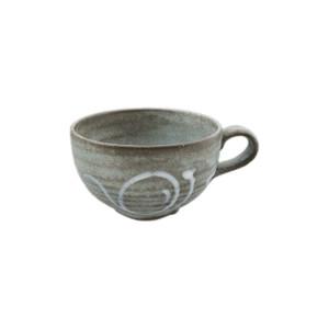 Rustic Grey-Blue Soup Mug