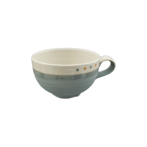 Soft Pastel Two-Tone Soup Mug