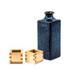 Speckled Midnight Blue Sake Set