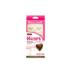 Heart Silicone Ice Cube and Chocolate Mold Plate - Medium
