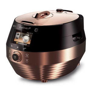 Cuchen IH Pressure Rice Cooker 10cup - Black/Rose Gold