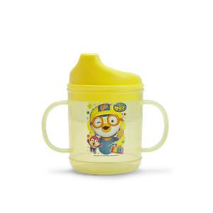 Pororo 2 Handled Kids Drinking Cup Bottle - Yellow