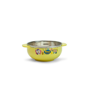 "Pororo Stainless Steel Bowl - 4""D"