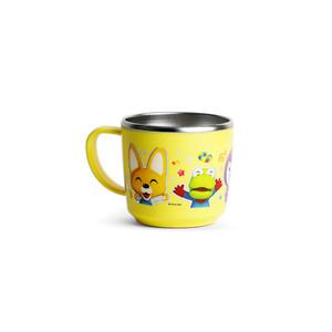 Pororo Non-Slip Stainless Steel Kids Mug