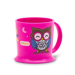 Edison Easy Drink Owl Mug - Pink 7oz