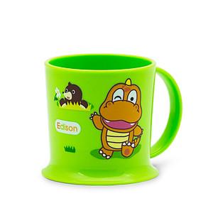 Edison Easy Drink Owl Mug - Green 7oz