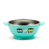 Edison Owl Non-Slip Rice Bowl - Blue 8oz