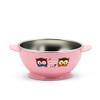 Edison Owl Non-Slip Rice Bowl - Pink 8oz