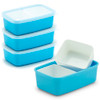 Bento Side Dish Container - Sky Blue (4 Count)