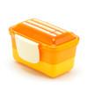 2-Tier Bento Lunch Box - Orange  Compact